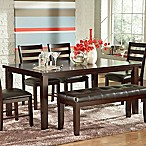 Steve Silver Co. Sao Paulo Dining Table in Merlot