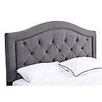 Abbyson Living® Hillsdale Velvet King/California King Headboard in Grey