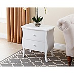 Abbyson Living® Belvedere Nightstand in White