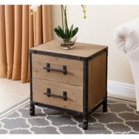 Abbyson Living Northwood Nightstand in Natural