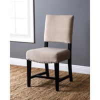 Abbyson Living® Crystal Velvet Dining Chair in Ivory