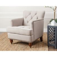 Abbyson Living® Tafton Linen Club Chair in Beige