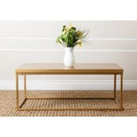 Abbyson Living® Durham Wood Coffee Table in Gold
