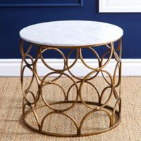 Abbyson Living® Roland Round Coffee Table in Gold