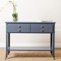 Abbyson Living Antoni Console Table in Blue
