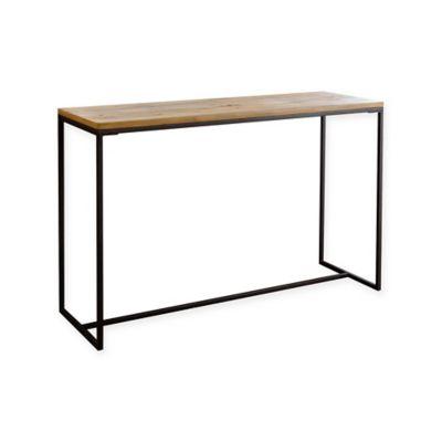 Abbyson Living® Kirkwood Sofa Table In Natural Wood
