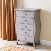 Abbyson Living Belvedere Accent Chest in Grey