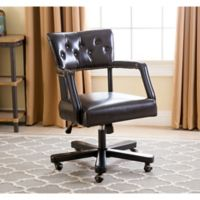 Abbyson Living® Quincy Office Chair in Dark Brown