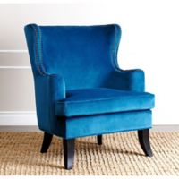 Abbyson Living Lauren Arm Chair in Blue