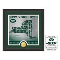 "NFL New York Jets ""State"" Photo Mint"
