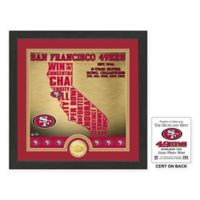 "NFL San Francisco 49ers ""State"" Photo Mint"