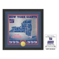 "NFL New York Giants ""State"" Photo Mint"