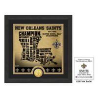 "NFL New Orleans Saints ""State"" Photo Mint"