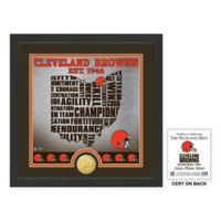 "NFL Clevel& Browns ""State"" Photo Mint"