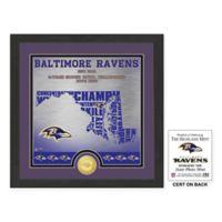 "NFL Baltimore Ravens ""State"" Photo Mint"
