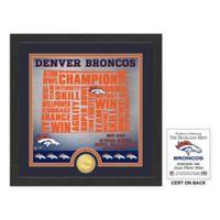 """NFL Denver Broncos """"State"""" Photo Mint"""