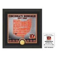 "NFL Cincinnati Bengals ""State"" Photo Mint"
