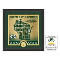 """NFL Green Bay Packers """"State"""" Photo Mint"""