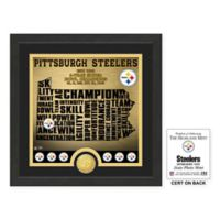 """NFL Pittsburgh Steelers """"State"""" Photo Mint"""