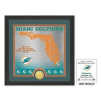 """NFL Miami Dolphins """"State"""" Photo Mint"""