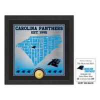 """NFL Carolina Panthers """"State"""" Photo Mint"""