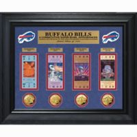 NFL Buffalo Bills 4 Consecutive Super Bowl Appearance Super Bowl Ticket and Game Coin Collection