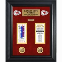 NFL Kansas City Chiefs Limited Edition Super Bowl Ticket and Game Coin Collection