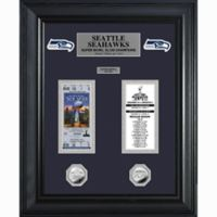 NFL New England Patriots Limited Edition Super Bowl Ticket and Game Coin Collection