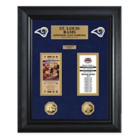 NFL St. Louis Rams Super Bowl Ticket Collection