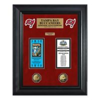 NFL Tampa Bay Buccaneers Super Bowl Ticket Collection