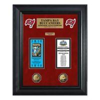 NFL Tampa Bay Buccaneers Super Bowl Ticket Collection