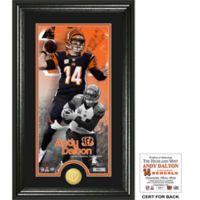 NFL Cincinnati Bengals Andy Dalton Supreme Bronze Coin Photo Mint