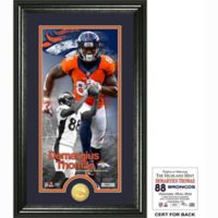 NFL Denver Broncos Damaryius Thomas Supreme Bronze Coin Photo Mint