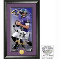 NFL Baltimore Ravens Joe Flacco Supreme Bronze Coin Photo Mint