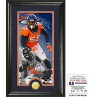 NFL Denver Broncos Von Miller Supreme Bronze Coin Photo Mint
