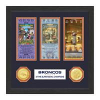 NFL Denver Broncos Super Bowl Ticket Collection
