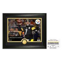 "NFL Ben Roethlisberger ""Quote"" Photo Mint"