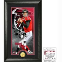 NFL Matt Ryan Supreme Bronze Coin Photo Mint