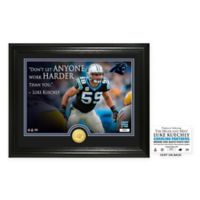 "NFL Luke Keuchly ""Quote"" Photo Mint"