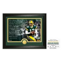 """NFL Aaron Rodgers """"Quote"""" Photo Mint"""