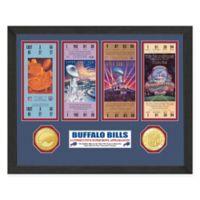 NFL Buffalo Bills Super Bowl Ticket Collection