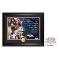 """NFL Von Miller """"Quote"""" Photo Mint"""