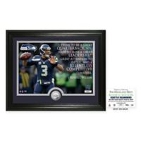 """NFL Russell Wilson """"Quote"""" Photo Mint"""
