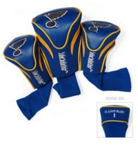 NHL St. Louis Blues 3-Pack Contour Golf Club Head Covers