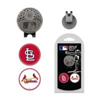 MLB St. Louis Cardinals 3-Piece Cap Clip and Magnetic Ball Marker Set