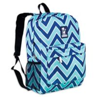 Wildkin Zigzag Lucite Crackerjack Backpack in Blue