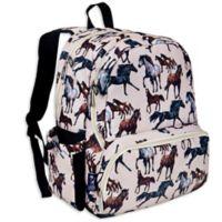 Wildkin Horse Dreams Megapak Backpack in Tan
