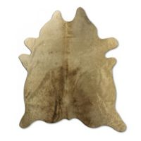 Natural Rugs Geneva Cowhide 6-Foot x 7-Foot Area Rug in Taupe