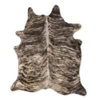 Natural Rugs Kobe Cowhide 6-Foot x 7-Foot Area Rug in Exotic Zebu