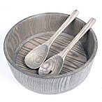 Artisanal Kitchen Supply® Salad Serving Set in Grey